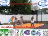 تأثير صدمة عادية بلاستيكيّة قابل للنقل كرة سلّة رياضة أرضية