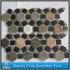 Mattonelle di mosaico variopinte naturali dell'ardesia per muro e la pavimentazione