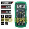 Multímetro digital das contagens do profissional 2000 (MS8321B)