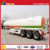 Brennöldes becken-50000liters LKW-Treibstoff-Stahltanker-Schlussteil halb