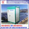 100kw 384V 480VDC aan AC Omschakelaar van de Macht van het Systeem van de ZonneMacht de Grote voor het Alleen Systeem van de Tribune