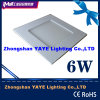 Yaye CE/RoHS SMD 6W Square LED Panel Light mit Factory Price