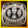 Ювелирные изделия Fashion ювелирных изделий Colleage Champion Ring Custome Jewellery Silver с CZ Inlaid