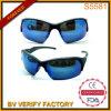 S5581 Half-Rim Suneyewear con Slim Templo azul para el Deporte