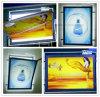 Visualización de la ventana Logo Tallado LED Acrílico Publicidad Slim Light Box