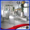 O PLC controla o equipamento da refinação de petróleo do girassol