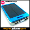 External portatif de port USB de Solar Panel Power 12000mAh Dual Battery Charger pour le téléphone mobile