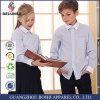 Personalizar o Logotipo próprio algodão camisas uniforme escolar para crianças