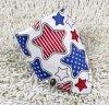 선전용 주문을 받아서 만들어진 로고 별은 인쇄했다 백색 면 귀여운 아기 삼각형 밴대나 (BO829)를