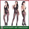 2018 Nouvelle conception licou de noir d'entrejambe ouvert sous-vêtements sexy