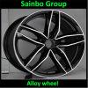 Carro Alloy Wheel Rims para Audi