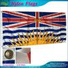 Indicateurs extérieurs en nylon nationaux de Colombie-Britannique de drapeau du Canadien 210d du Canada (J-NF34F18002)