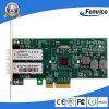 1000Mbps Gigabit Ethernet 2 LAN van Havens Kaart, Adapter van de Server van de Vezel de Optische, de Kaarten van de Interface van het Netwerk van de Server Chipset van Intel 82571