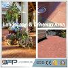 Pavé de jardin en granit rouge avec finitions ignifugées pour sol / sol