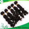 Estensione brasiliana dei capelli umani di Remy dei capelli del Virgin del commercio all'ingrosso superiore del grado