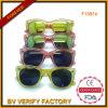 Bunte Sonnenbrillen mit Spiegel-Objektiv-Masse von Wenzhou (F15816)