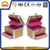Mini boite de bijoux en aluminium avec tiroir (HB-2213)