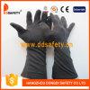 Перчатка хлопка Ddsafety 2017 черная с длинним тумаком