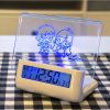 Memopad com Digital Clock