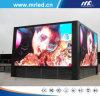 Placa de exposição normal ao ar livre do diodo emissor de luz da série do armário de Mrled (SMD3535) P10mm