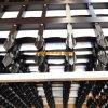 Barriera di sicurezza tubolare di alluminio del rivestimento della polvere