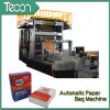 Parte inferior-Pasted de alta velocidade Paper Bag Making Machine para Cement (ZT9804 & HD4913)
