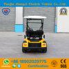 Carro de golf eléctrico del pasajero de Zhongyi 2 en venta