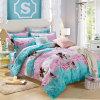 美しいデザインは綿の漫画の寝具セットを印刷した