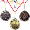 Personalizzare la medaglia ricca del metallo di placcatura di alta qualità per la prima, la seconda, terza