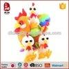 Belle mini le poulet de jouet de gosses bourré de cadeau de Pâques de jouet de poussin par peluche promotionnelle molle pond des oeufs