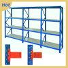 4 Systeem van het Rek van het Pakhuis van het Metaal van rijen Medium-Duty Regelbare
