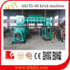 Extrusora de vacío hecha China Máquina automática del ladrillo de arcilla