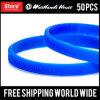Wristband su ordinazione del silicone di Deboss di 1/4 di pollice