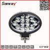 6.5  36 lumière imperméable à l'eau ronde de travail de la tache IP67 LED de W