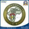 La moneda del metal del Ejército del EE. UU. del cliente de la promoción para crea para requisitos particulares
