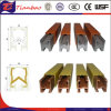 Crane protetto Conductor Rail Conductor Bars per Mobile Device Power Supply