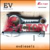Apto para o motor Mitsubishi S4f S4f2 4dr7 4dr5 4DQ7 4DQ5 Biela mancal de rolamento da biela definido