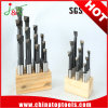 6 mm de haute qualité 8PCS/Ensemble socle bois Cobalt barres ennuyeux HSS