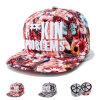 Nylon impreso con motivos florales bordados personalizados tapas (YKY Trukfit3311)