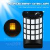 Sensor de Movimento Solar exterior luz de parede com 66levou Luz Jardim Solar