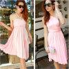Commercio all'ingrosso casuale poco costoso del vestito da partito della spiaggia di estate delle donne di nuovo stile