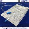 Ziehen-Drücken medizinischer urinausscheidender 2000ml Wegwerfauffangbehälter für erwachsenes Ventil