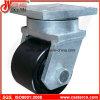 Extrahochleistungsschwenker-Fußrolle mit Breiten-Stahl-Rad