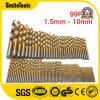 1.0/1.5/2.0/2.5/3.0mm HSS Main Power Twist bits définis pour les boiseries