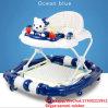 8 Leurder van de Baby van wielen de Plastic met Muziek en Veel Speelgoed