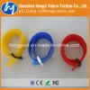 Flacher haltbarer Nylonkabelbinder mit Plastikfaltenbildung
