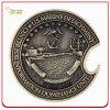 antike Messingmünze der herausforderungs-3D für Andenken