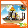 Corrediça ao ar livre do equipamento do campo de jogos da série do castelo mini para crianças