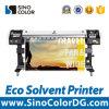 ビニールの印刷のためのSinocolor Es640c大きいフォーマットのEcoの支払能力があるプリンター