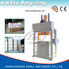 Compressa do algodão/lãs que recicl a prensa/prensa de vestuário usada/prensa hidráulica